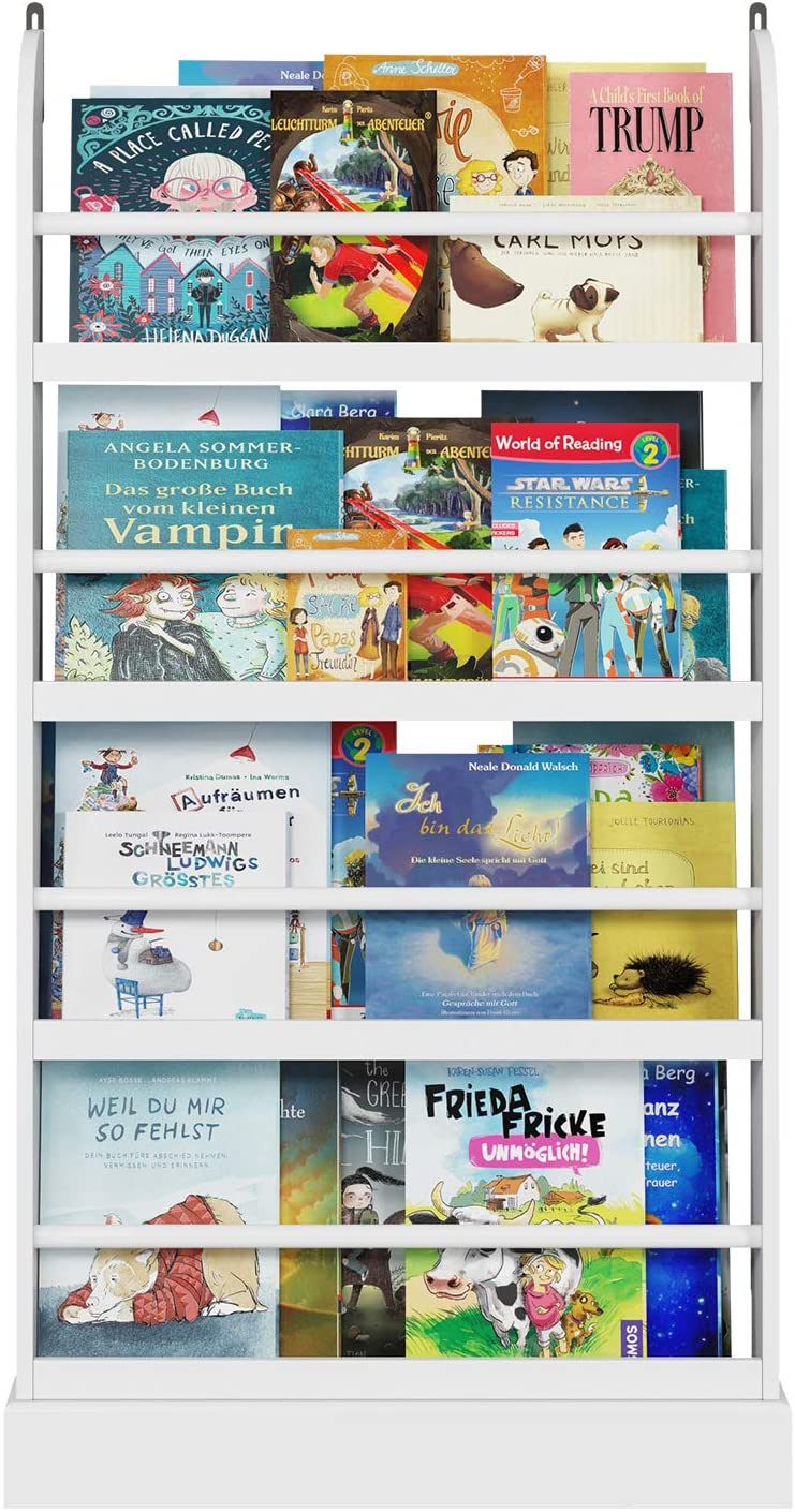 Libreria in legno per bambini