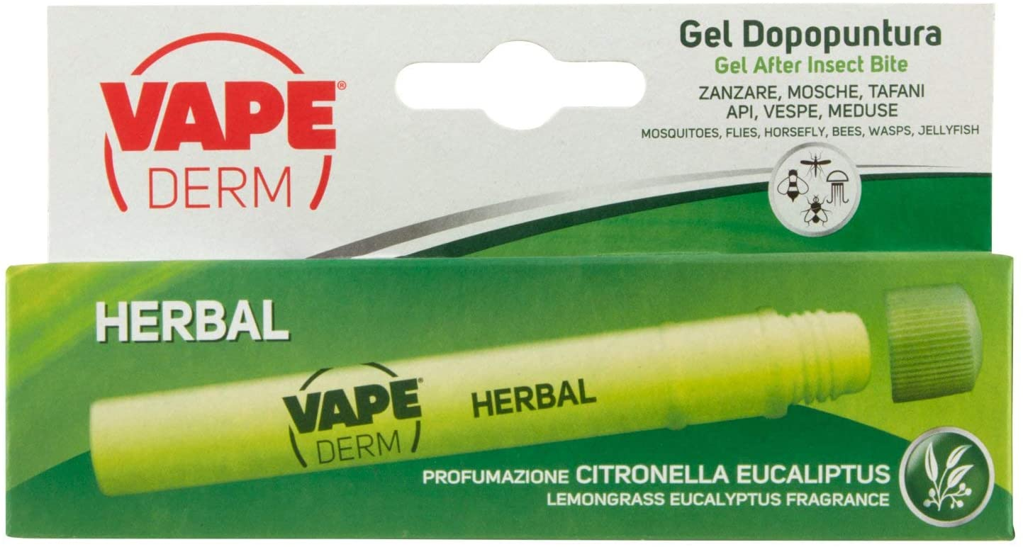 vape derm herbal penna dopo puntura zanzare